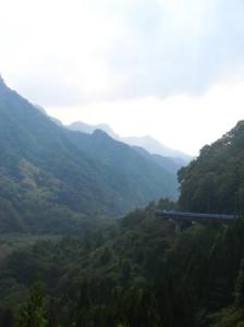 群馬県の54号長野原倉渕線2